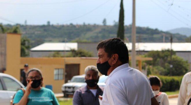 Oscar González exhorta a la ciudadanía a emitir su voto